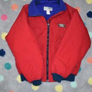 Vintage LL Bean Warm- Up Jacket